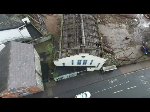 Demolition of Linenhall Street, Ballymoney