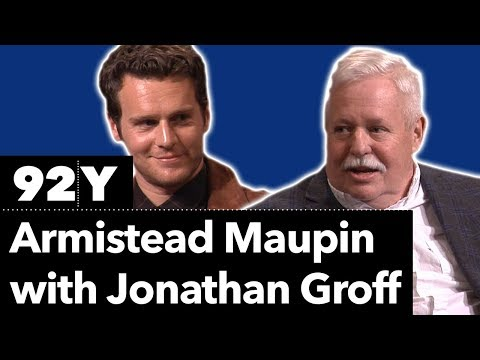 Armistead Maupin in Conversation with Jonathan Groff