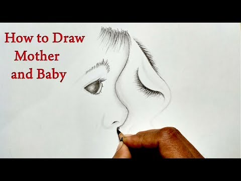 mother's-day-drawing-for-kids/-how-to-draw-mother-and-baby-drawing-easy-step-by-step-for-kids