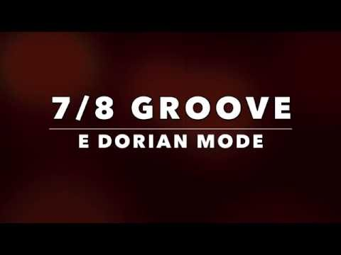 7/8 Funk Groove Backing Track (Em)