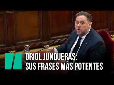 Las frases más potentes de Junqueras durante el juicio al 'proces'