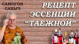 Хвойный концентрат + НАСТОЙКА ТАЕЖНАЯ / Ароматизаторы, эссенции / Самогон Саныч