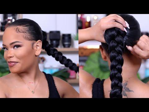 super-sleek-long-braided-ponytail-(on-natural-hair)-|-protective-style-|-arnellarmon