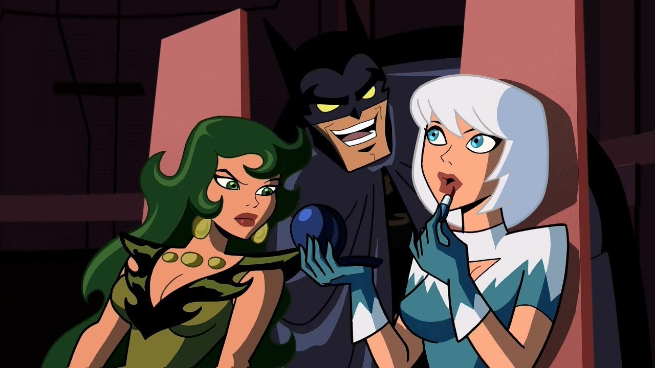 naked girls in batman brave and the bold