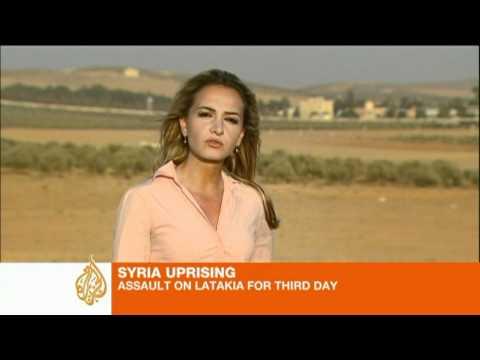Syrian army assault on Latakia continues