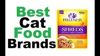 best cat food brands | Best Cat Food Brands 2018||