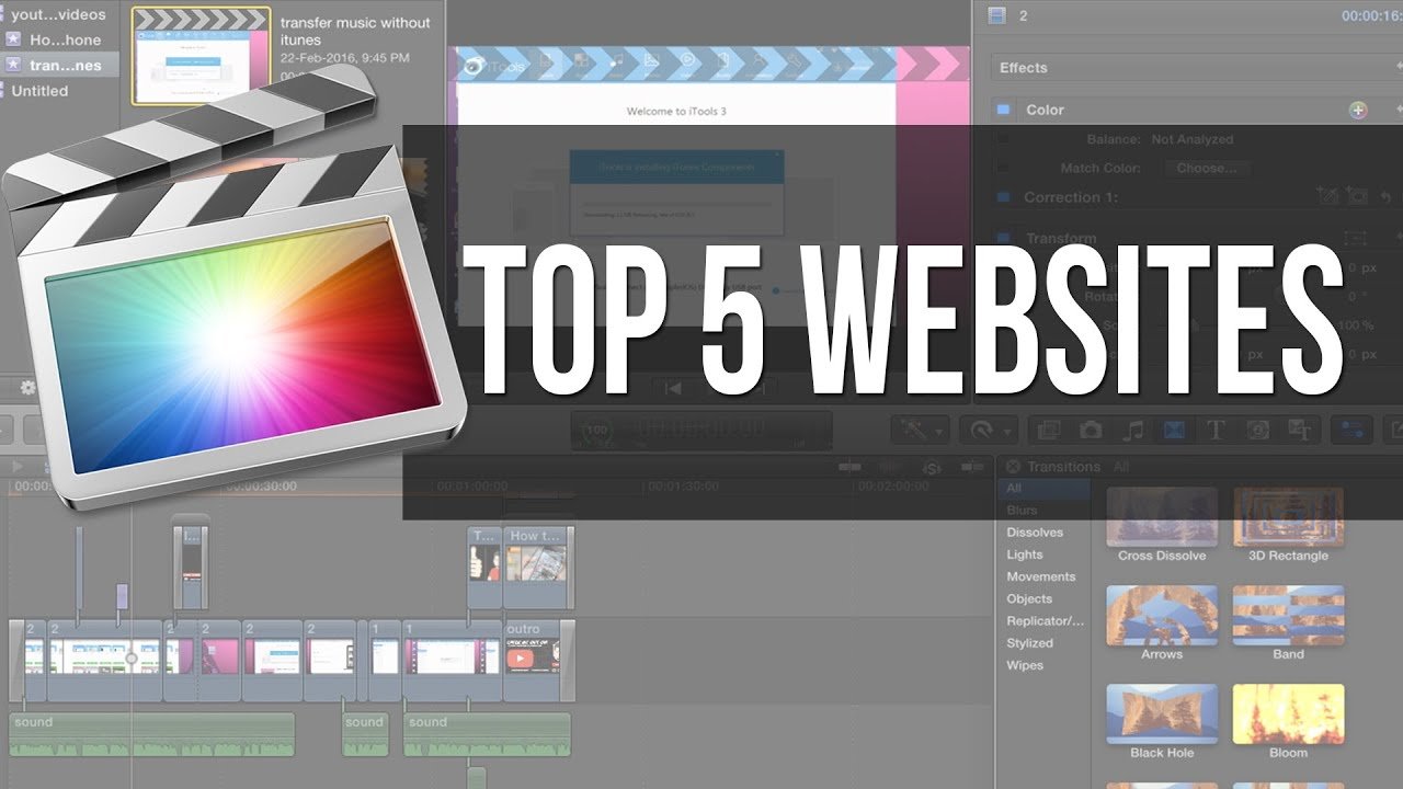 final cut pro x plugins free download