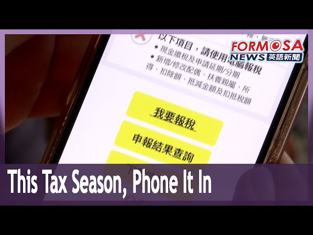 Mobile tax filing available for first time