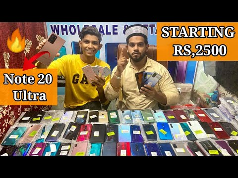 Hyderabad🤠in Charminar😍Mobile Market iPhones Cheapest Price Using Jagdish market oppo vivo  realme