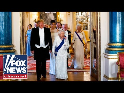 Full Video: Trump, Queen Elizabeth II Exchange Toasts At UK State Dinner