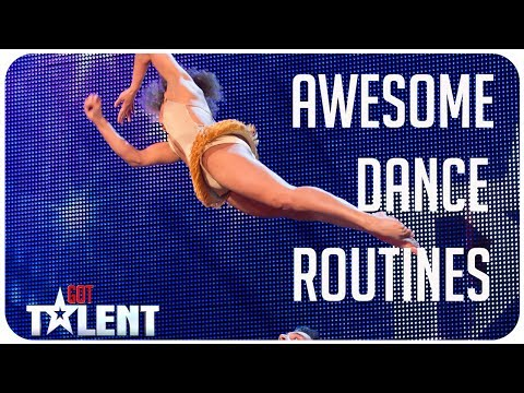 6 Awesome Dance Routines from Got Talent around the world!