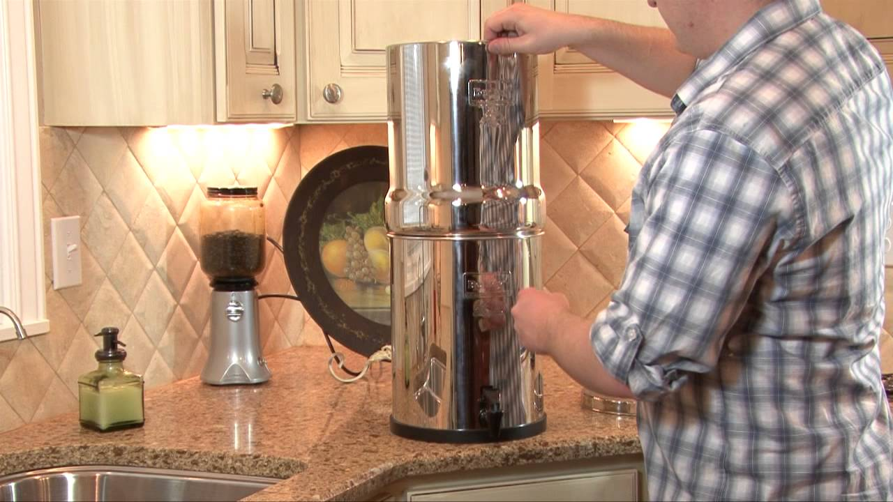 Royal Berkey Water Filter Youtube