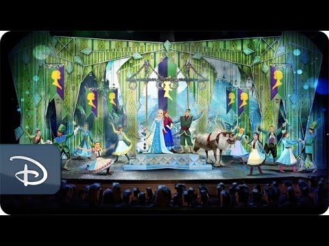 'Frozen, A Musical Spectacular' Takes the Stage | Disney Cruise Line