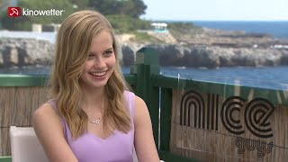 Interview Angourie Rice THE NICE GUYS Cannes 2016