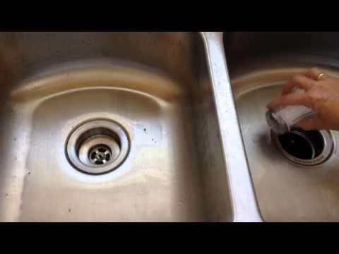 DIY Stainless Steel Sink Cleaner