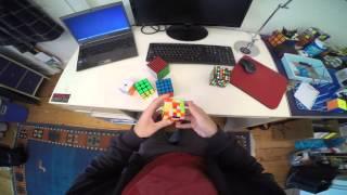 2x2-7x7 Rubik's cube relay: 5:41.09