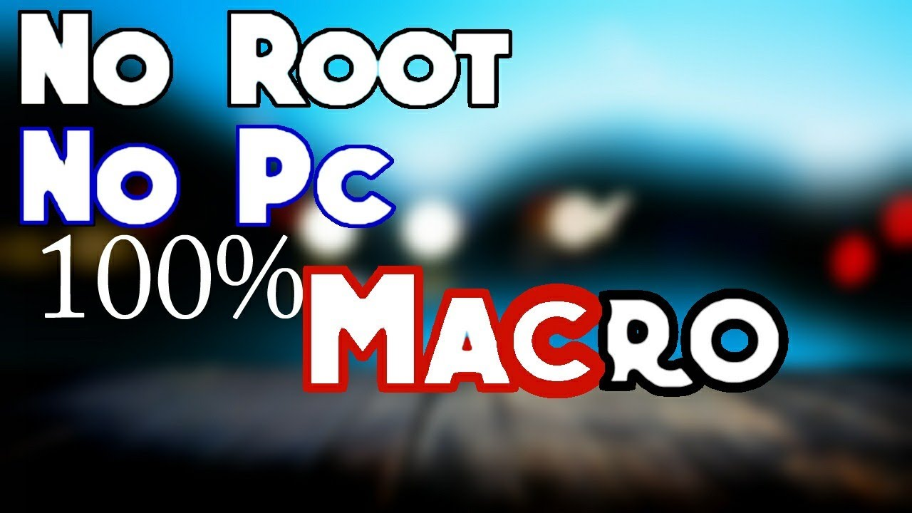 Touch macro android no root