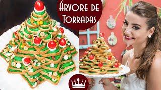 Árvore de Torradas – receita fácil de Natal por Gabriela Rossi
