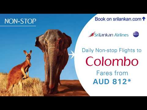 SriLankan Airlines - Daily Non stop flights to Colombo !