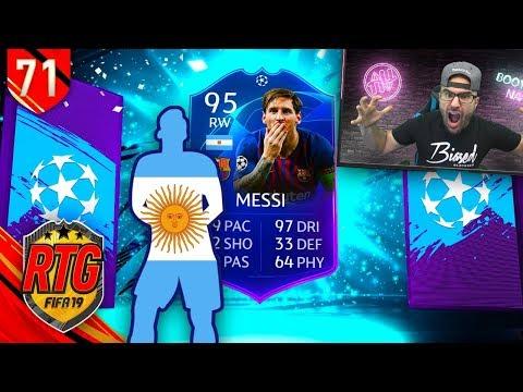OMG YES! TOTGS MESSI! - FIFA 19 Ultimate Team RTG #71