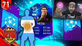 OMG YES! TOTGS MESSI! - FIFA 19 Ultimate Team RTG #71