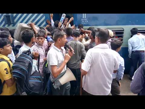 Unreserved, General Railway train tickets valid for only three hours after purchase