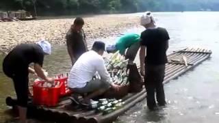 Making of Liquan beer commercial in Yangshuo