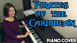 Pirates of the Caribbean, He's a Pirate (Piano Сover)/Пираты Карибского моря на пианино