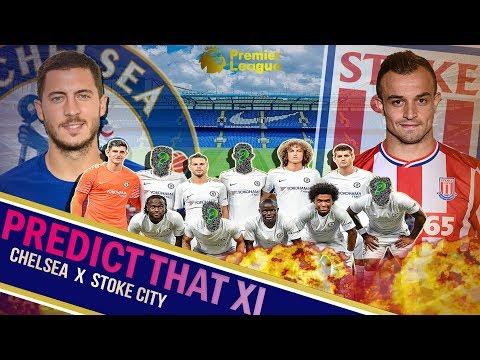 Chelsea vs Stoke City Predicted Line Up    Why 3-4-3 is key!    Christensen to return?