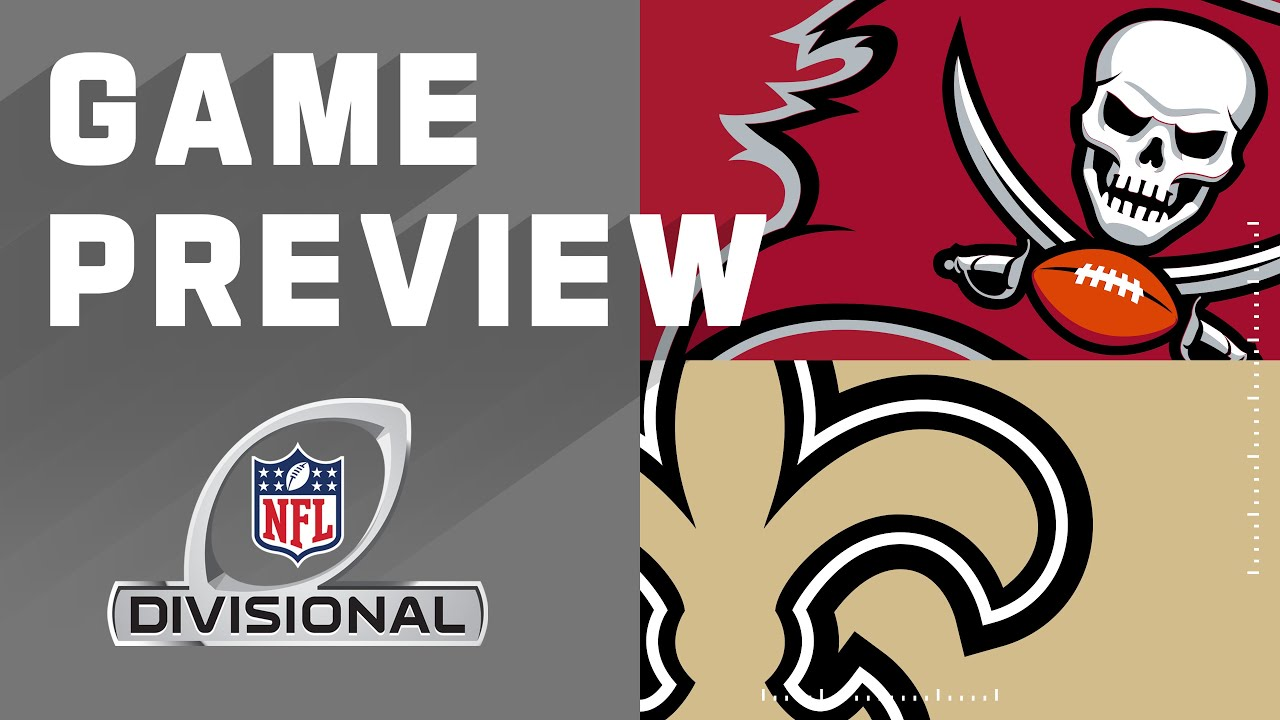 Tampa Bay Buccaneers vs. New Orleans Saints | NFL Divisional Round Preview  - YouTube