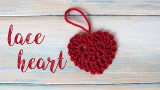 In this video I show you how to crochet a picot lace heart! Spot the error and comment if you find it below!! lol This tutorial is part of my countdown to Christmas ...