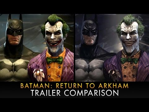 Batman: Return to Arkham graphics comparison video compares Xbox One/PS4 to PC