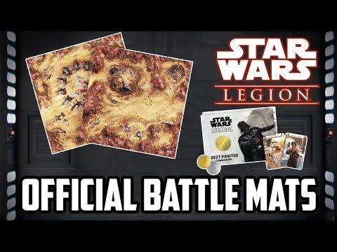 Official Star Wars Legion Mats & Recruitment Kit News