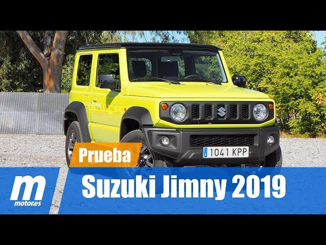 Suzuki Jimny | Prueba / Testdrive / Review en Español HD | Motor.es HD