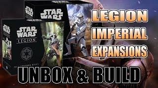 Imperials Unbox & Build: Star Wars Legion