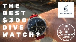 BEST $300 Dive Watch? Spinnaker Bradner Review
