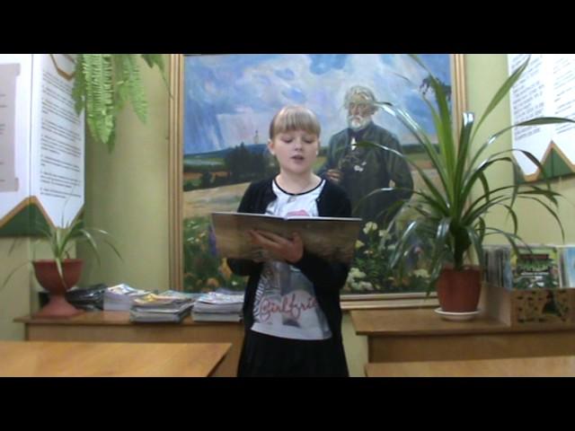 Изображение предпросмотра прочтения – ДианаКрутых читает произведение «Бородино» М.Ю.Лермонтова