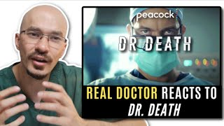 REAL Doctor reacts to DR. DEATH! TV show Review