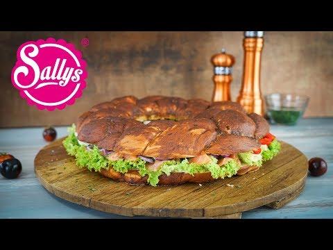 Laugenkranz / Partykranz fürs Buffet / Oktoberfest / Sallys Welt