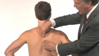 Shoulder Exam (4 of 9): Scapular control (Is there scapular dyskinesia?)
