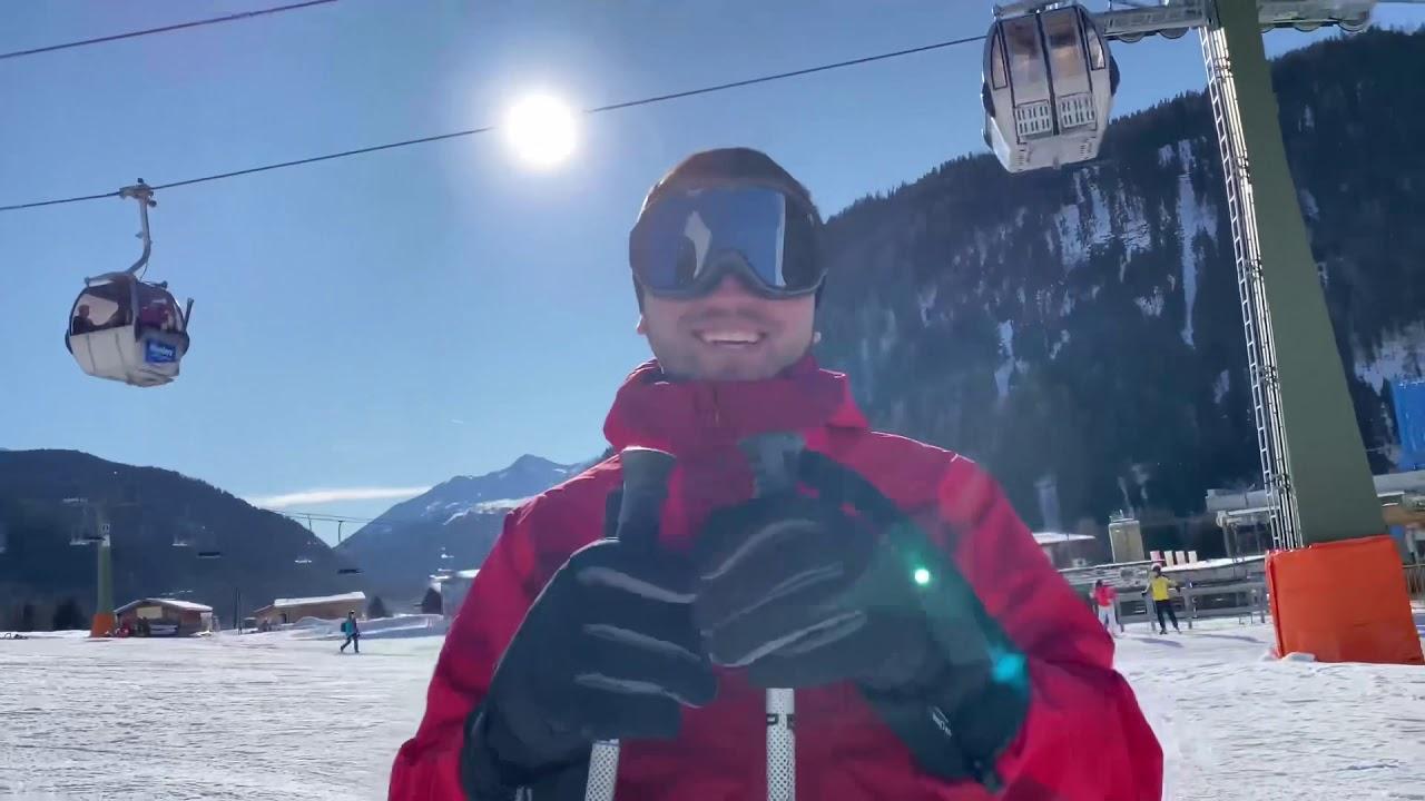 Pentru prima data pe schiuri, Nauders Austria 2020 (Alexandru Bradatan)