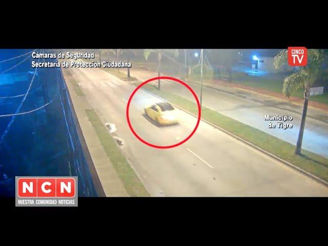 CINCO TV - Conductor alcoholizado y en contramano fue aprehendido rápidamente por el COT