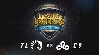 TL vs. C9 - Week 8 Game 1 | NA LCS Summer Split | Team Liquid vs. Cloud9 (2017)