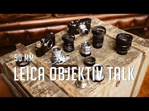 Leica Objektiv Talk 50mm mit Ralf Bertram von Meister Camera