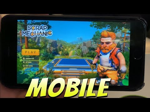 Scrap Mechanic Mobile Download Android IOS 2020