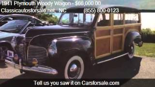 1941 Plymouth Woody Wagon  for sale in Nationwide, NC 27603 #VNclassics