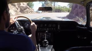 1967 Jaguar E-type - Stunt Road Cruise in Malibu
