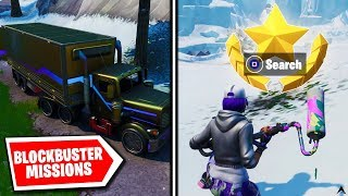 All BLOCKBUSTER MISSIONS and REWARDS on Fortnite Season X...