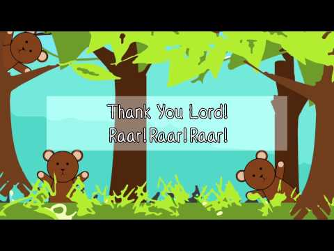 Thank You Lord for Making Me (Lyrics Video)
