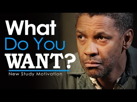 What Do You REALLY Want? GO MAKE IT HAPPEN! – New Motivational Video for Success & Studying